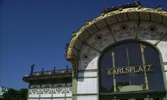 Karlsplatz Pavillon von Otto Wagner